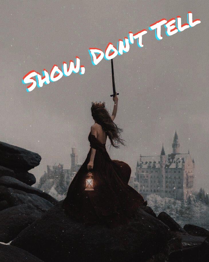 """Lo """"Show, don't tell"""" è indispensabile. Spiegazione ed esempio"""